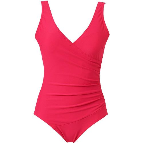 Beachcomber Crossover Swimsuit - Pink